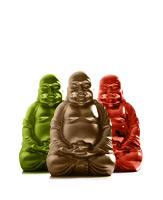 Keramikfigur Buddha